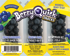 Berry Quick Snacks