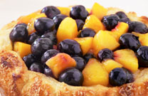 Rustic Blueberry-Nectarine Crostata
