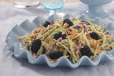 Blackberry Broccoli Slaw