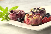 Naturipe Farms Mini Berry Cheese Cakes