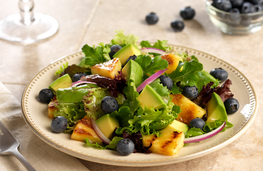 Naturipe Farms Avocado Pineapple Blueberry Salad