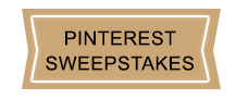 Pinterest Sweepstakes