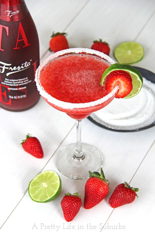 ... From: http://www.aprettylifeinthesuburbs.com/strawberry-fresita-rita