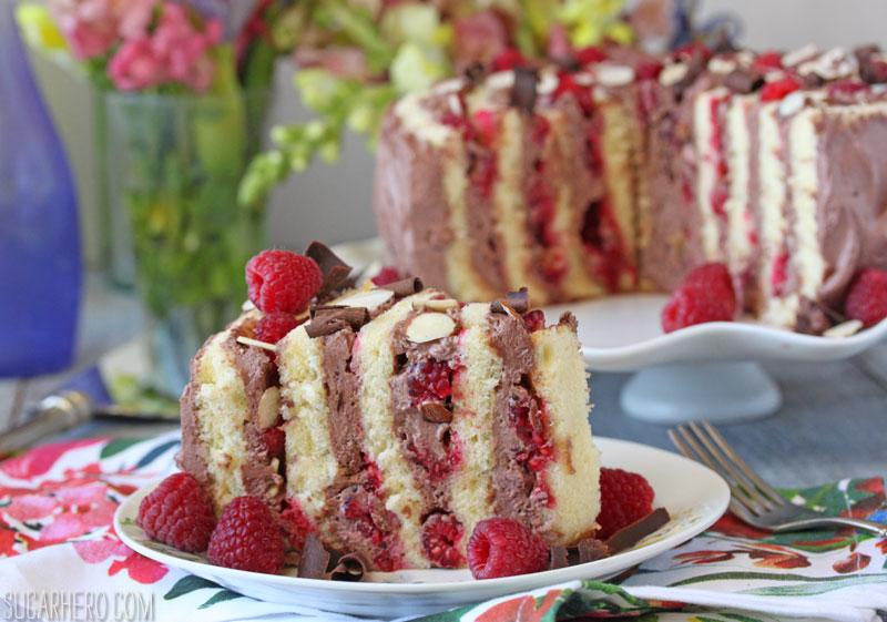 Raspberry Almond Spiral Cake2