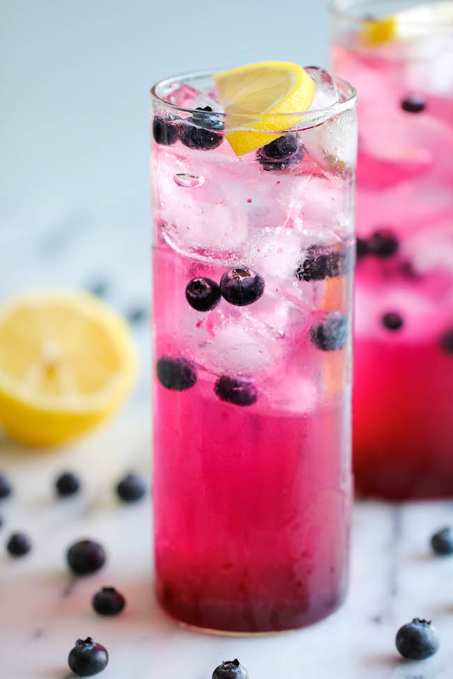 drink recipes with blueberries