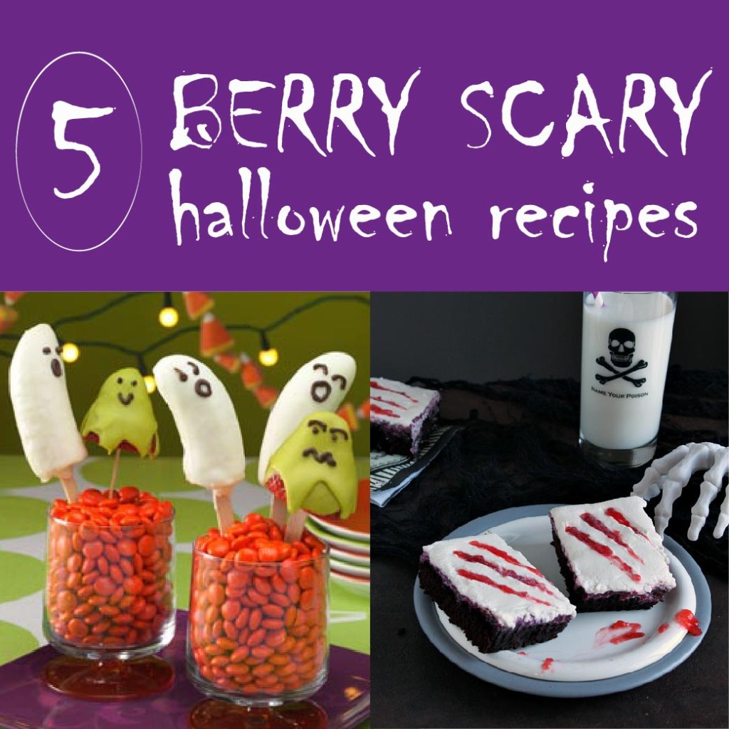 Berry Scary Halloween Recipes
