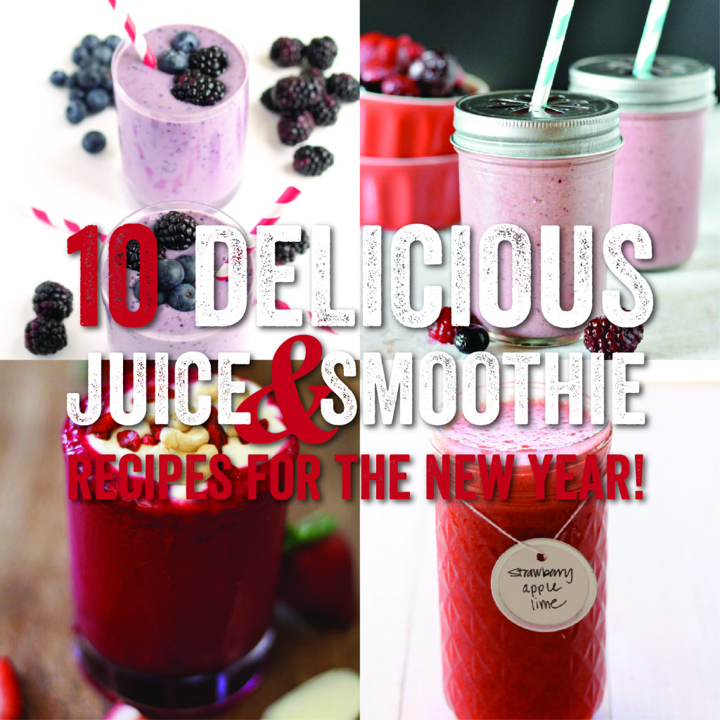 10 absolutely delicious juices and smoothies with berries!