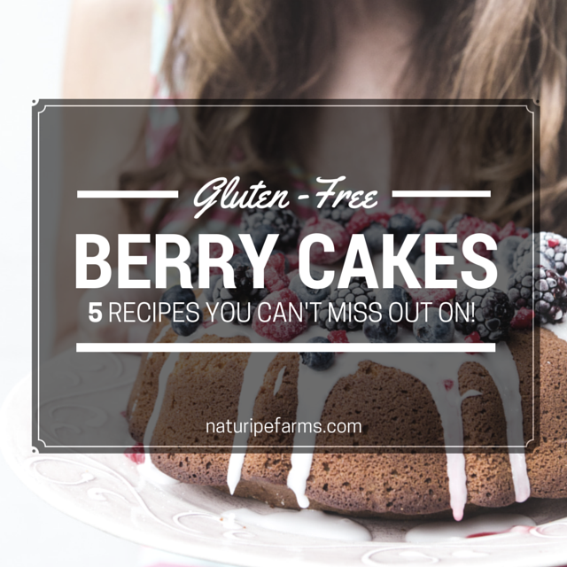Gluten-Free Berry Cake Recipes for any occasion!
