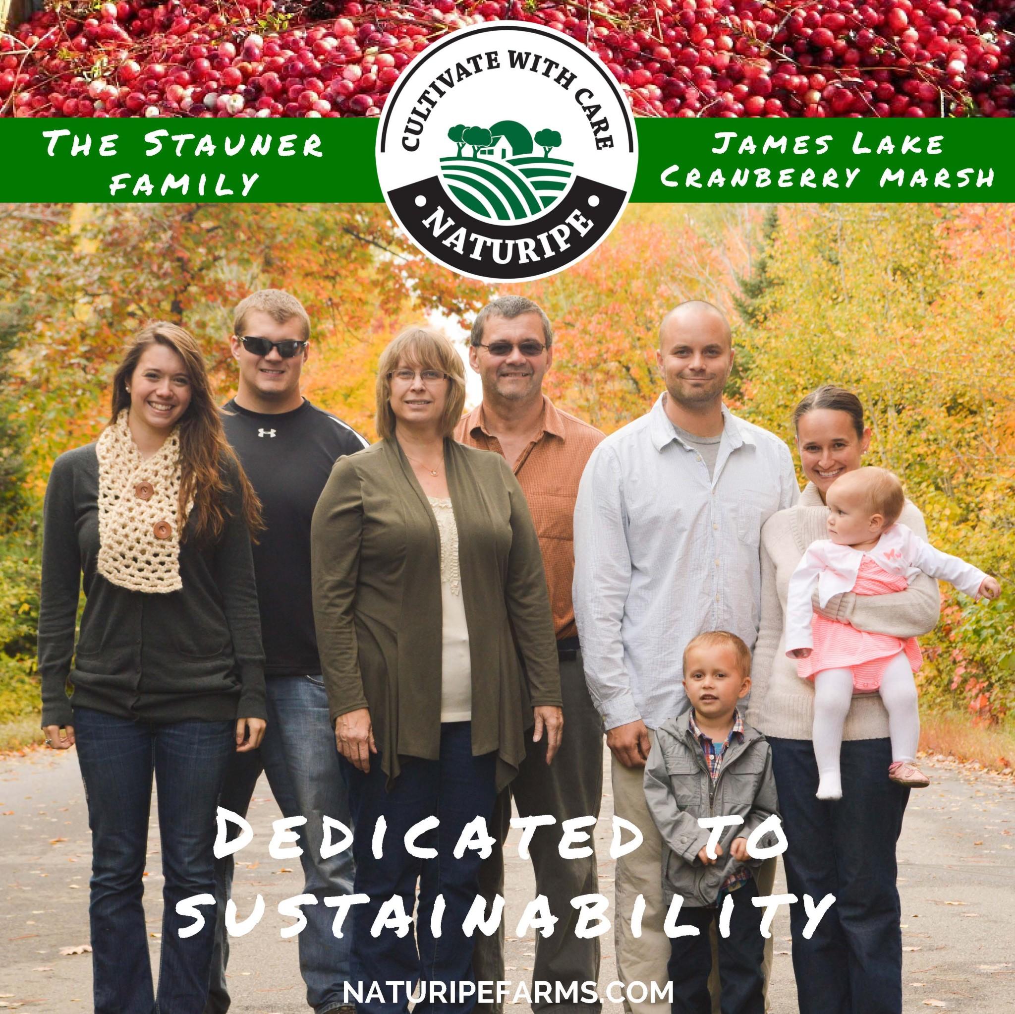 Stauner Family, James Lake Farm – Dedicated to Sustainability
