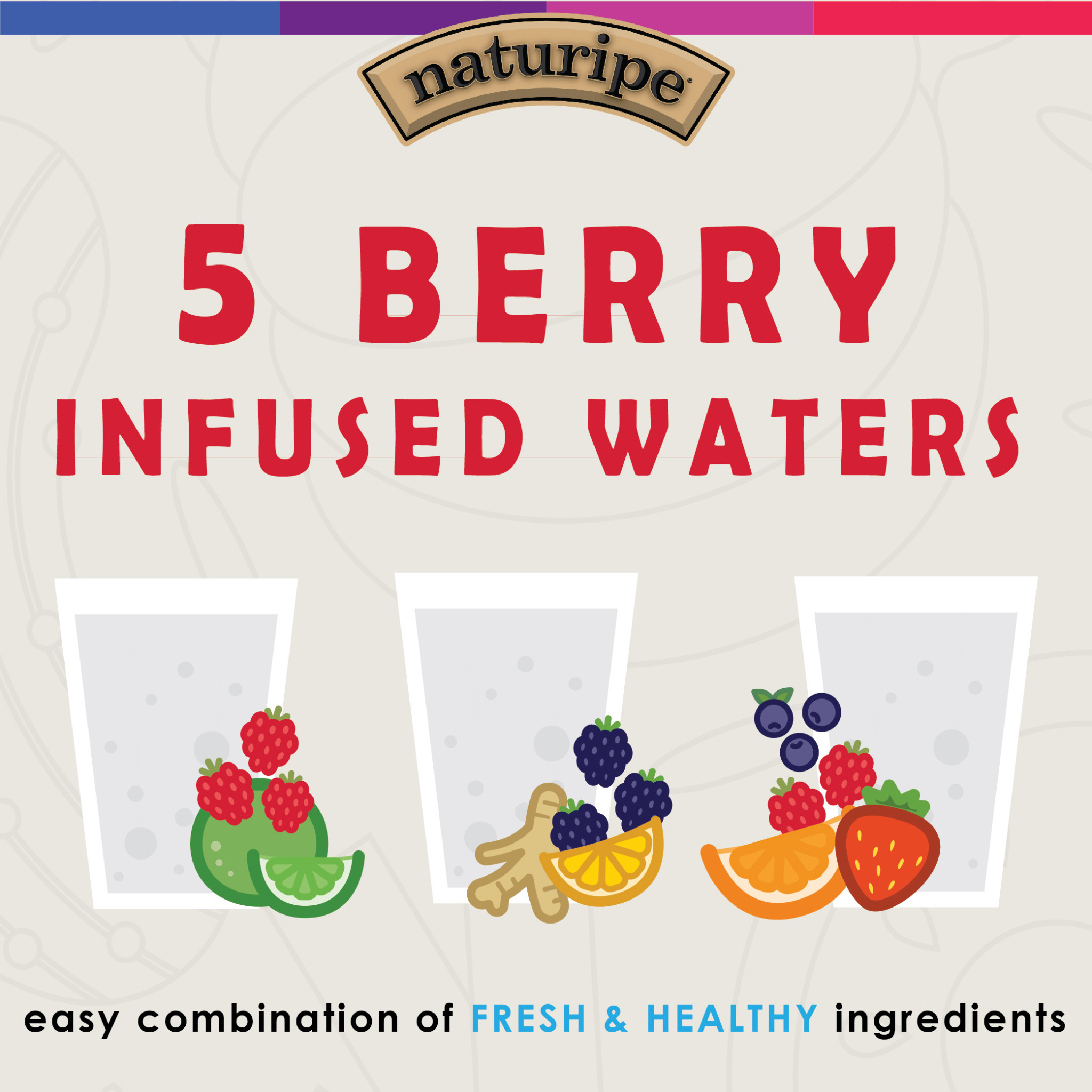 Top 5 Easy Berry Infused Waters for the New Year!